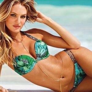 Victoria's Secret Swim - VS Tropical Miraculous Bombshell Bikini Top 36DD